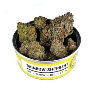 Rainbow Sherbet Cans
